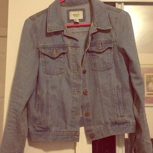 Jean jacket from forever 21 size small